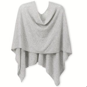 Cashmere Counter Poncho/Dress Gray Topper